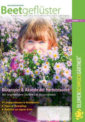 Herbstausgabe des Beetgeflüsters: Blättern Sie online im Katalog